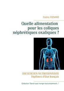 Livre de conseils diététiques pour les coliques néphrétiques oxaliques