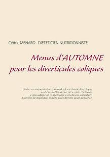 Livre de menus diététiques d'automne pour les diverticules coliques