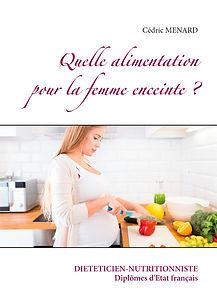 Livre de conseils diététiques pour la femme enceinte