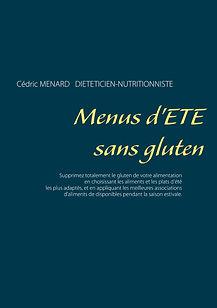 Livre de menus diététiques d'été sans gluten