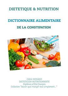Dictionnaire diététique de la constipation