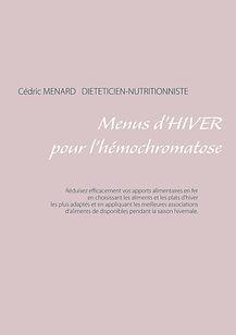 Livre de menus d'hiver pour l'hémochromatose