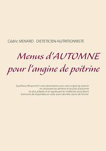 Livre de menus diététiques d'automne pour l'angine de poitrine