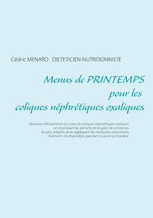 Menus de printemps pour les coliques néphrétiques oxaliques