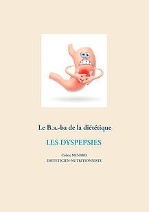 Livre de conseils diététiques pour les dyspepsies