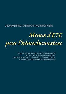 Livre de menus d'été pour l'hémochromatose