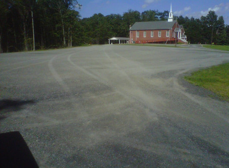 Cedar Baptist Church Parking Lot