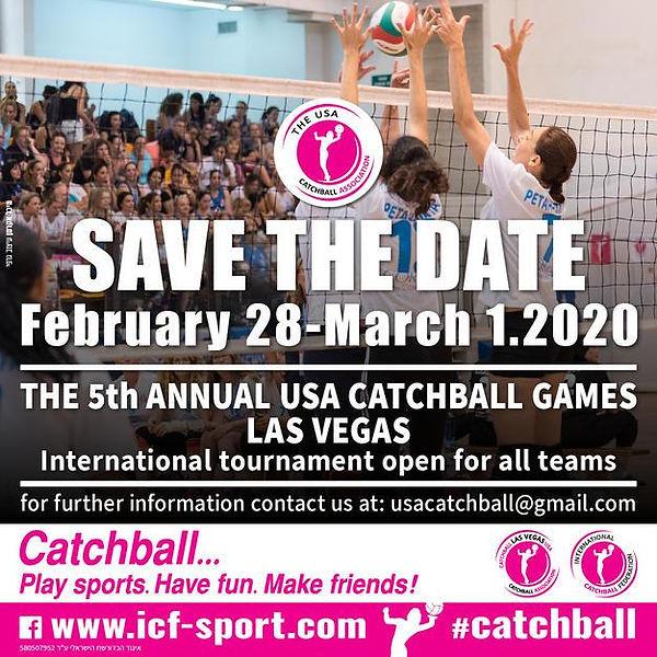 Las Vegas Catchball Games 2020
