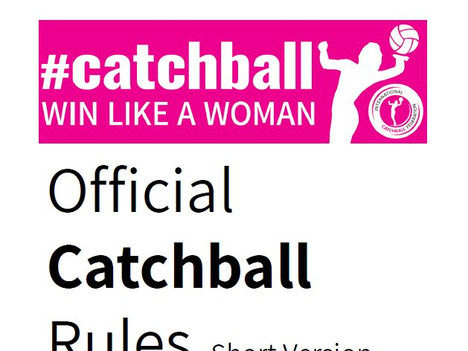 2019 Edition of the official Catchball Rules is now available for download