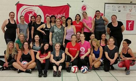 Catchball Toronto team