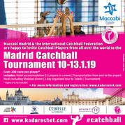 Catchball Tournament in Madrid 10-13 Jan 2019