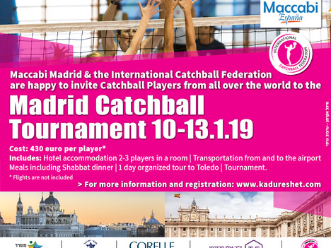 Catchball Tournament in Madrid 10-13 Jan 2019