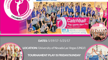 Las Vegas to host it's 2nd Catchball Tournament on May 18-22 2017