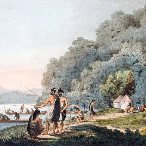 Webber - Queen Charlottes Sound