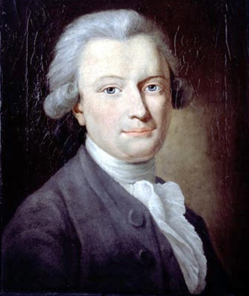 Portrait of George Forster, after Anton Graff, c. 1784