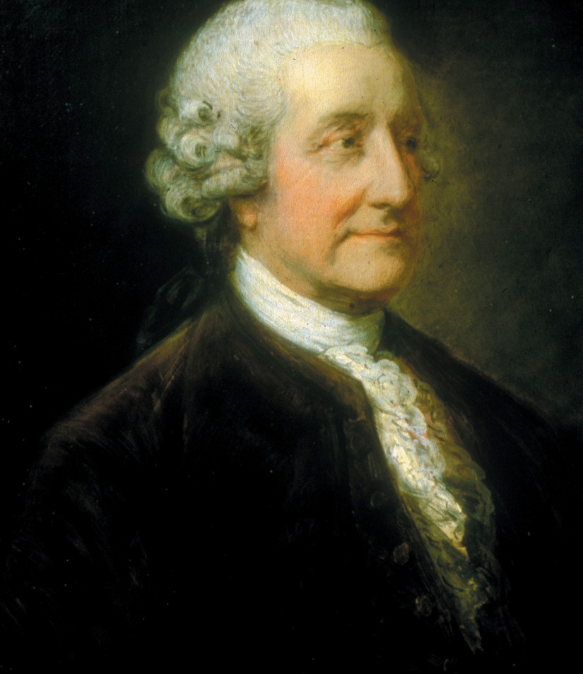 Lord Sandwich Portrait by Gainsborough