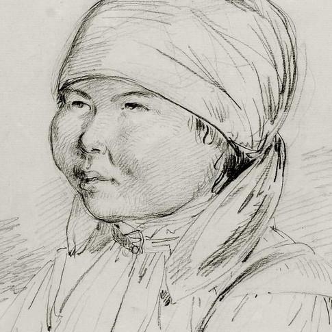 John Webber - Woman of Kamchatka