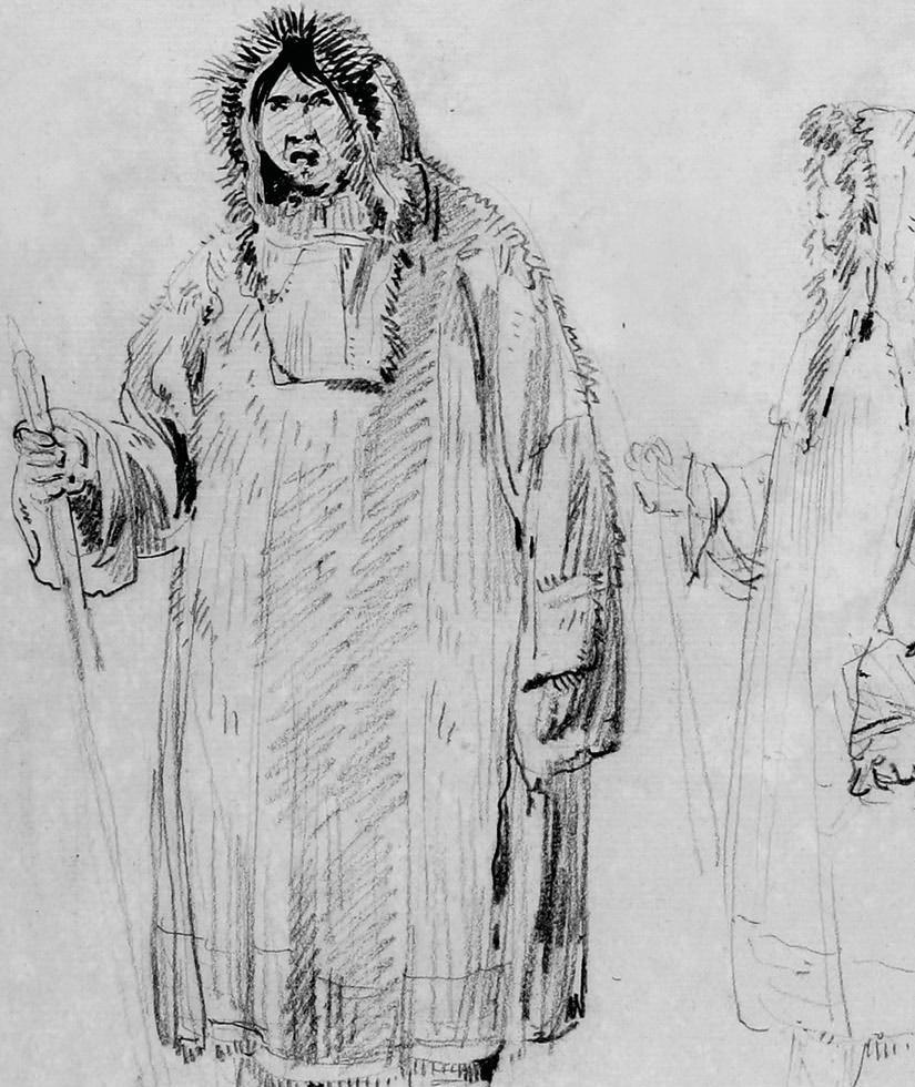 John Webber - Man of Kamchatka