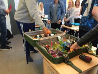 Besøg på Vester Hornum Skole