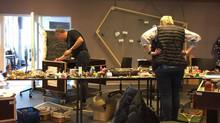 Styregruppen for Digitalisering i Hjørring Kommune indtager Material StoryLab