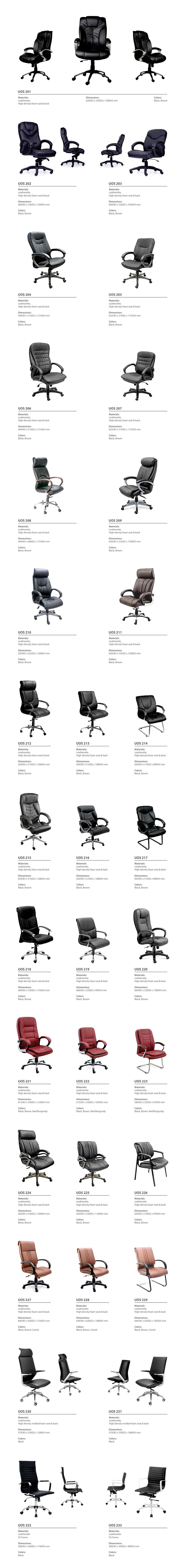 Executive Chair Collection