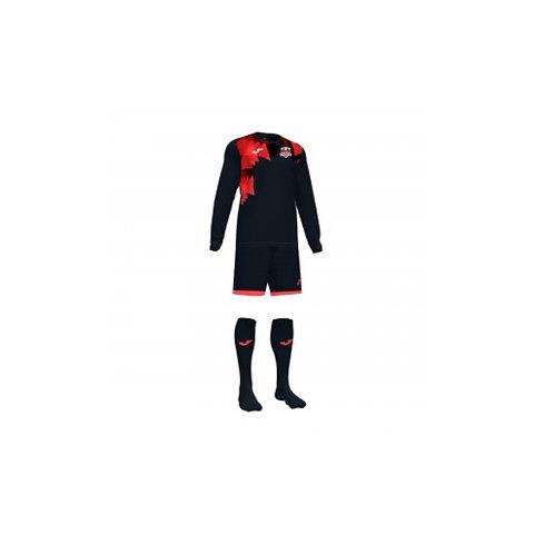 Prattville United Black Keeper Set