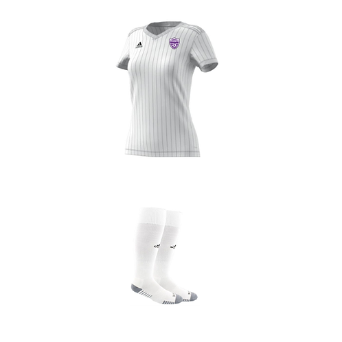 Springville High School White Jersey and White Socks