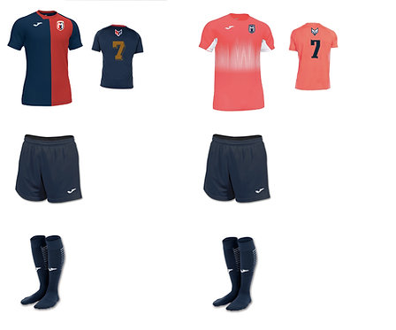 Girls/Women FC Montgomery Required Uniform Package