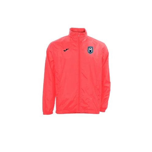 FC Montgomery Rain Jacket Coral
