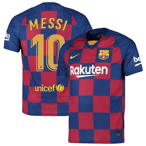 Messi Barcelona Home Jersey