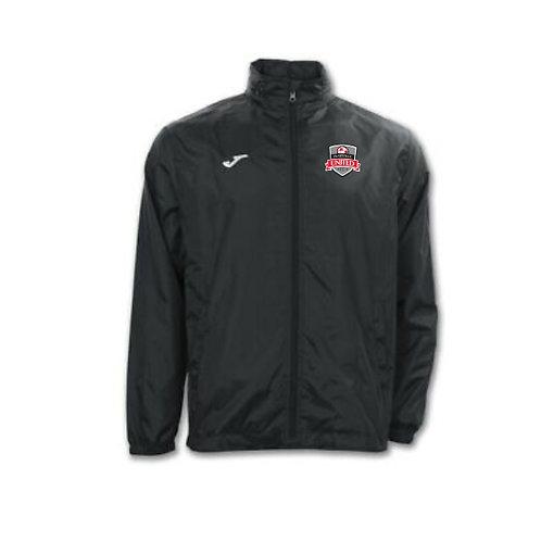 Prattville United Black Rain Jacket