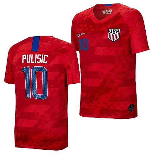 Pulisic USA Away Jersey