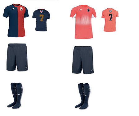 Boys/Men FC Montgomery Required Uniform Package