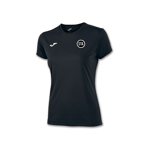 STA Women Black Training Top
