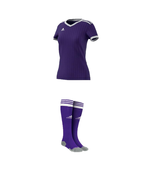 Springville High School Purple Jersey and Purple Socks