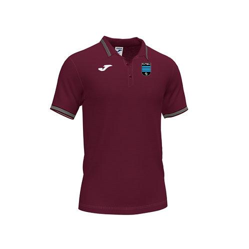 Futsal Escola Burgundy Polo