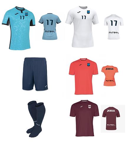 Boys/Men Futsal Escola Required Uniform Package