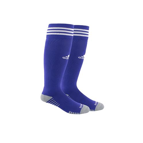 Springville Purple Game Socks