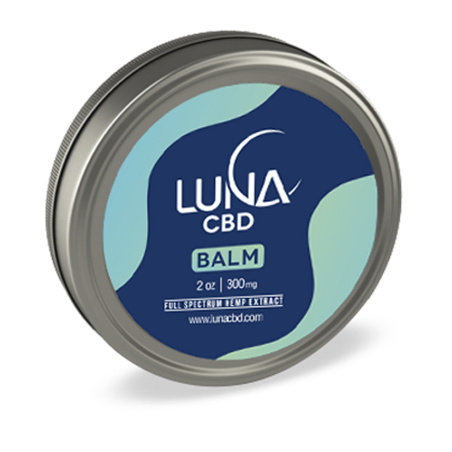 Luna Full Spectrum Hemp Extract Balm 2oz