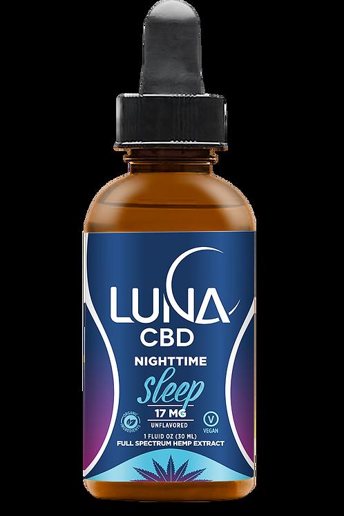 Luna Nighttime SLEEP Tincture 500mg, 1oz. (formerly Luna Original)