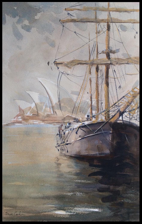 Schoner in Sydney harbour