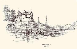 Maccagno harbour