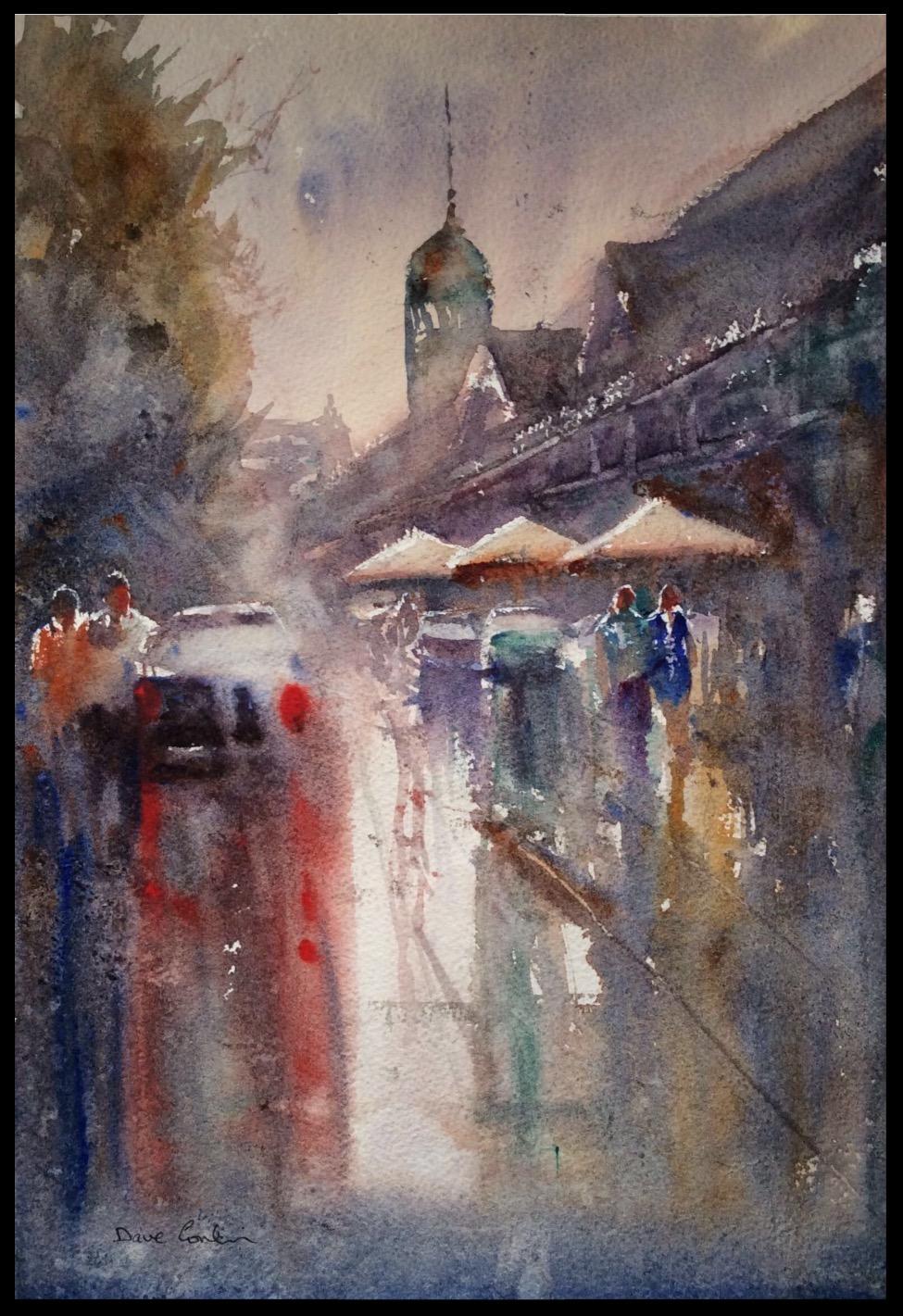 Wet day Fremantle