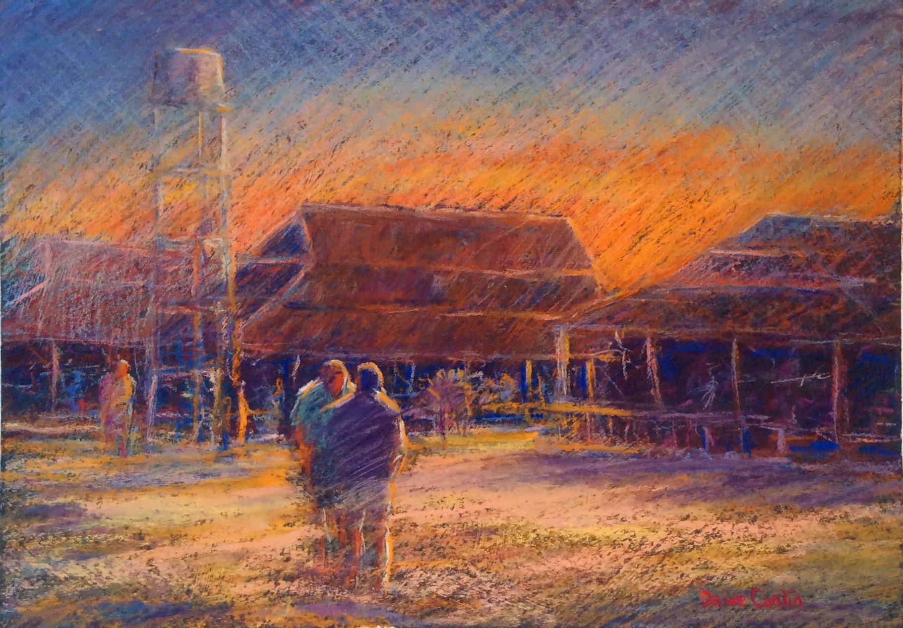 Sundown on Homestead North WA