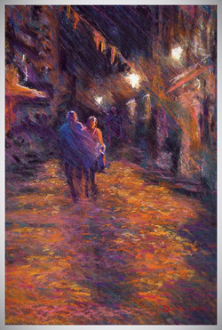 Night stroll on the Algarve
