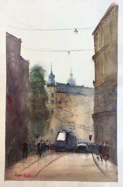 Krakow early morning