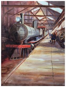 Yarloop Engine Museum