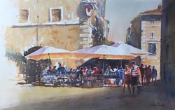 Cafe strip Italy