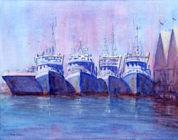 Fremantle boat harbour