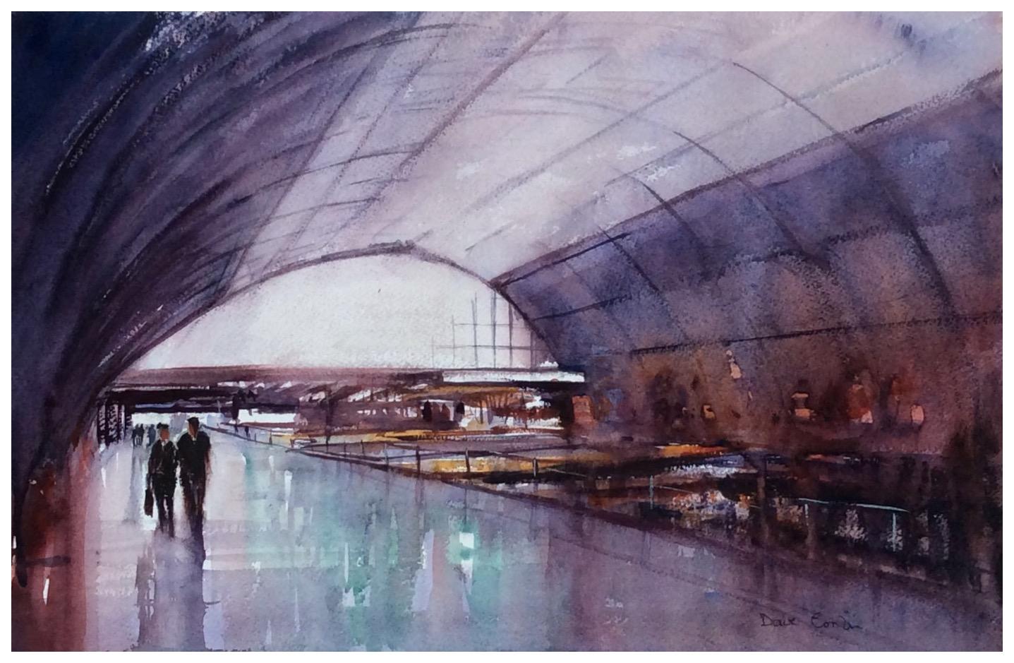 St Pancras Concourse